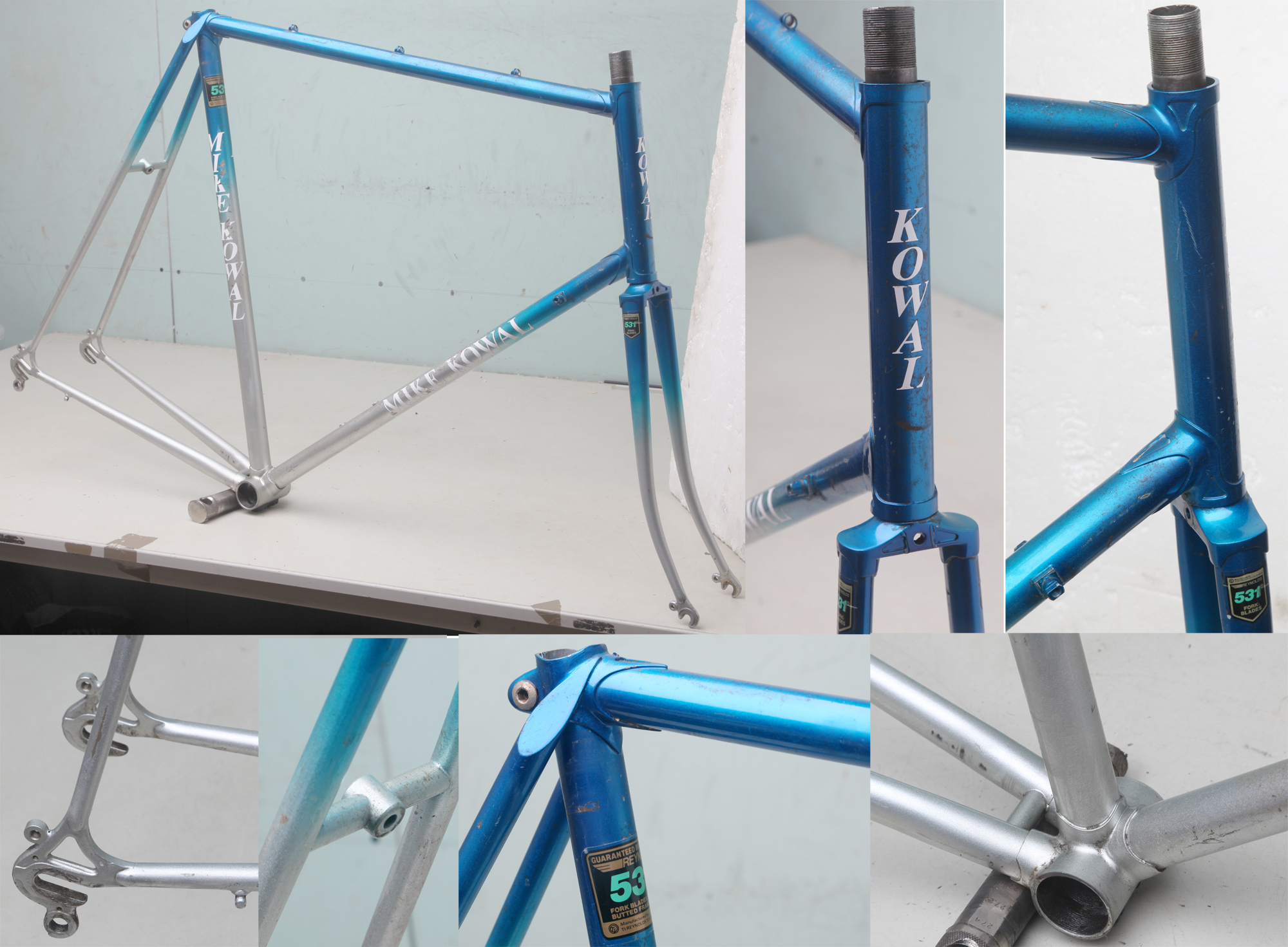 Hilary Stone British/American bike frames page 3